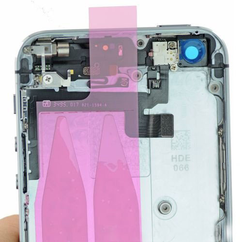 Grey back housing cover Assembly with small parts for iPhone 5S