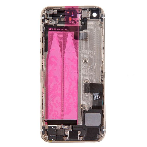 Gold back housing cover Assembly with small parts for iPhone 5S