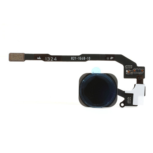 iPhone 5S Home Button with PCB Membrane Flex Cable -Black