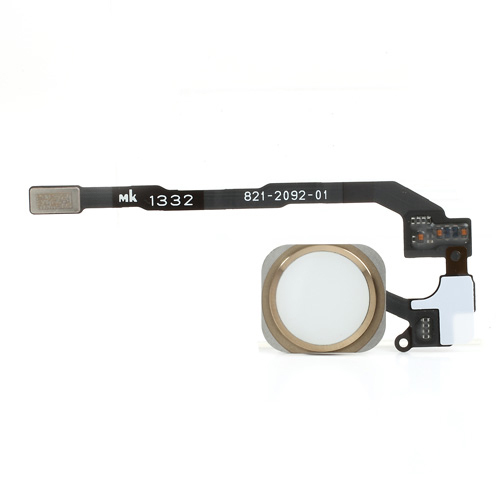 iPhone 5S Home Button with PCB Membrane Flex Cable -Gold