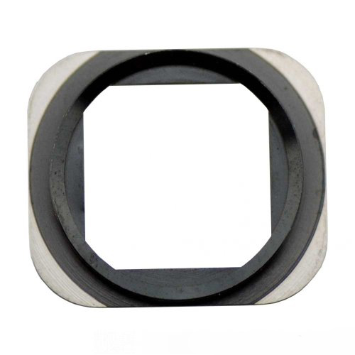 Black iPhone 5S Home Button Metal Ring