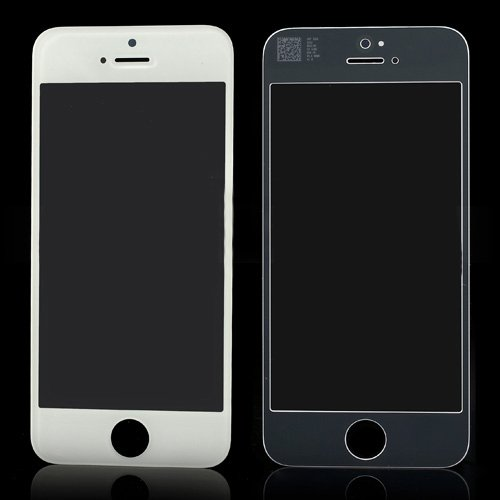 For iPhone 5S/5 Front Glass Lens White