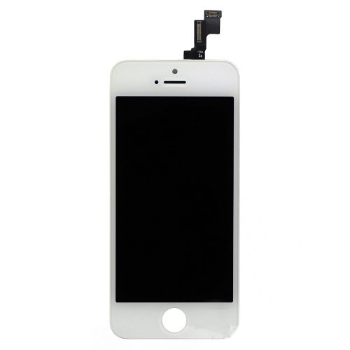 Original LCD with Digitizer Assembly for iPhone SE/5s White