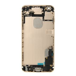 Battery Cover with Small Parts Assembly for iPhone 6 Plus Gold