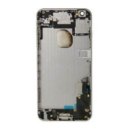 Battery Cover with Small Parts Assembly for iPhone 6 Plus Gray