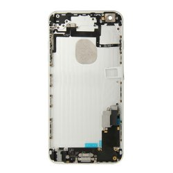 Battery Cover with Small Parts Assembly for iPhone 6 Plus White