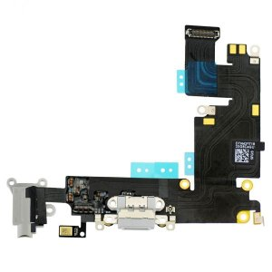 Charging Port Flex Cable Ribbon for iPhone 6 Plus - Light Gray Original