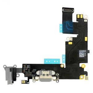 Charging Port Flex Cable Ribbon for iPhone 6 Plus - Dark Gray Original