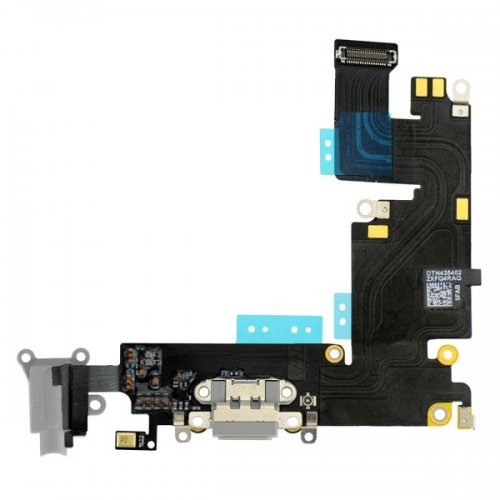 Charging Port Flex Cable Ribbon for iPhone 6 Plus - Dark Gray Original