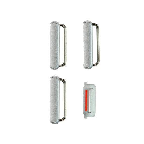 Repair Part for iPhone 6 Plus Side Keys (4 pcs/set) - Silver