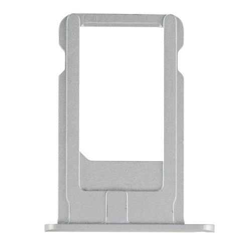 Repair Part for iPhone 6 Plus SIM Card Tray - Silver