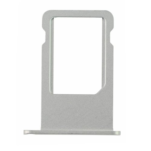 Repair Part for iPhone 6 Plus SIM Card Tray - Silver