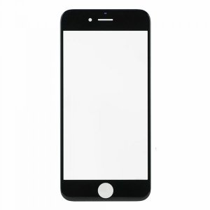 For iPhone 6 Front Glass Lens Black