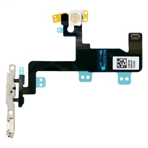 Original for iPhone 6 Power Button Flex Cable with Metal Bracket Assembly