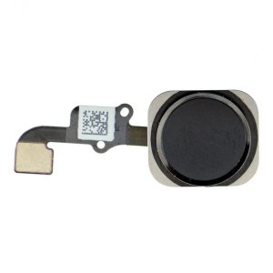For iPhone 6/6 Plus Home Button with Flex Cable Assembly -Black