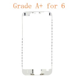 For iPhone 6 LCD Front Supporting Frame with Hot Melt Glue Attached White Grade A+