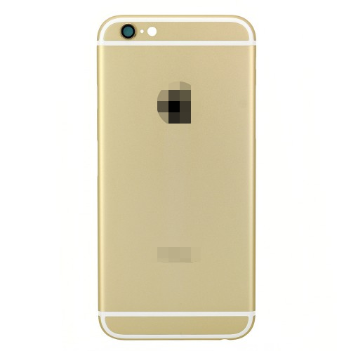 For iPhone 6 Battery Cover Back Cover Gold