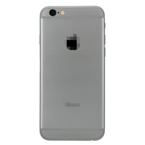 For iPhone 6 Battery Cover Rear Cover with Small Parts Assembly Grey