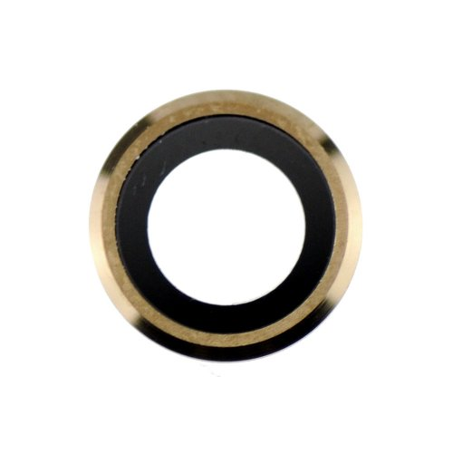 For iPhone 6/6s Rear Camera Holder with Lens - Gold