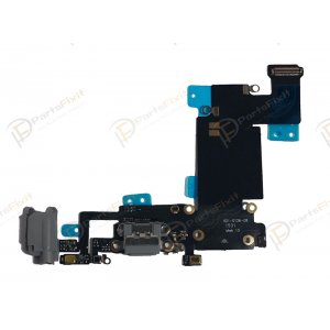 Charging Port Flex Cable for iPhone 6S Plus Dark Gray Original