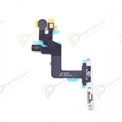 Power Button Flex Cable with Metal Bracket Assembly for iPhone 6S Plus
