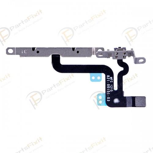 Volum Button Flex Cable with Metal Bracket Assembl...