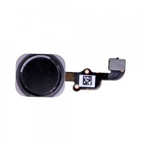 Home Button with Flex Cable Assembly for iPhone 6S/6S Plus Black
