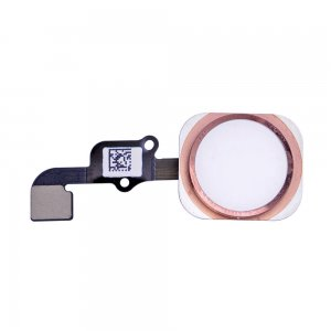 Home Button with Flex Cable Assembly for iPhone 6S/6S Plus Rose Gold