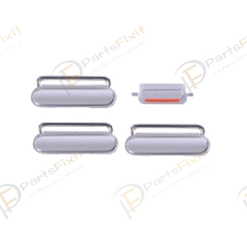 Side Buttons for iPhone 6S 4.7 Silver