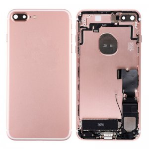 For iPhone 7 Plus Battery Cover with Small Parts Assembly Rose Gold