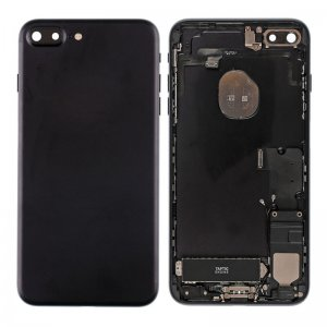 For iPhone 7 Plus Battery Cover with Small Parts Assembly Black