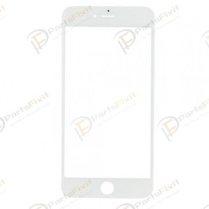 For iPhone 7 Plus Front Glass Lens White