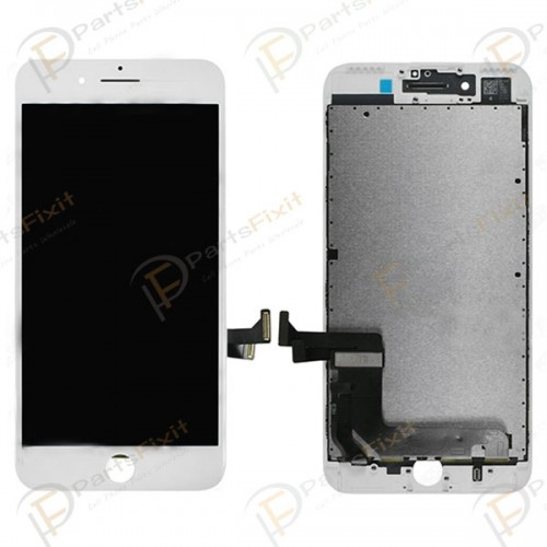 Refurbished LCD Assembly for iPhone 7 Plus White