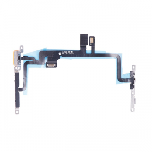 For iPhone 7 Plus Power Button Flex Cable with Met...