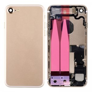 For iPhone 7 Back Cover with Small Parts Assembly Gold