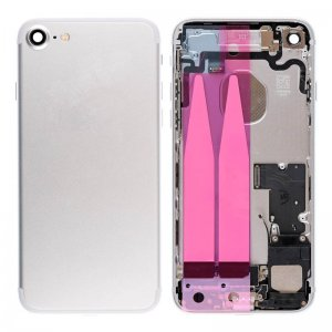 For iPhone 7 Back Cover with Small Parts Assembly Silver