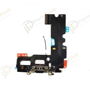 Charing Port Flex Cable for iPhone 7 Black Original