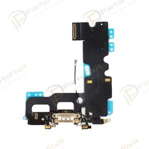 Charing Port Flex Cable for iPhone 7 White Original