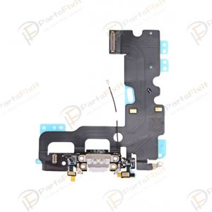 Charing Port Flex Cable for iPhone 7 Gray Original
