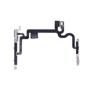 Power Button Switch Flex Cable with Metal Braket for iPhone 7