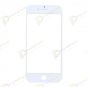 For iPhone 7 Front Glass Lens White
