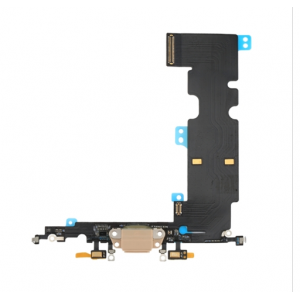 Charging Port Flex Cable for iPhone 8 Plus Gold Original