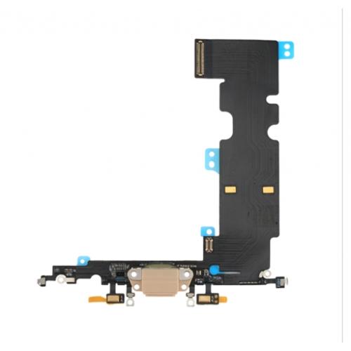 Charging Port Flex Cable for iPhone 8 Plus Gold Original