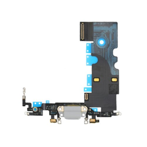 Charging Port Flex Cable for iPhone 8 White Original