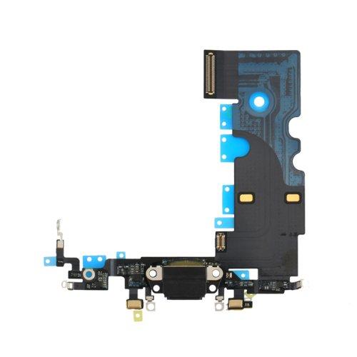 Charging Port Flex Cable for iPhone 8 Black Original