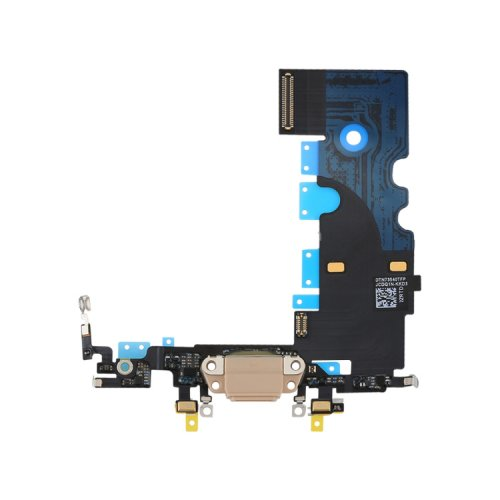 Charging Port Flex Cable for iPhone 8 Gold
