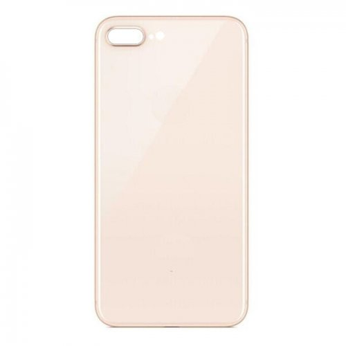 For iPhone 8 Plus Back Glass Gold