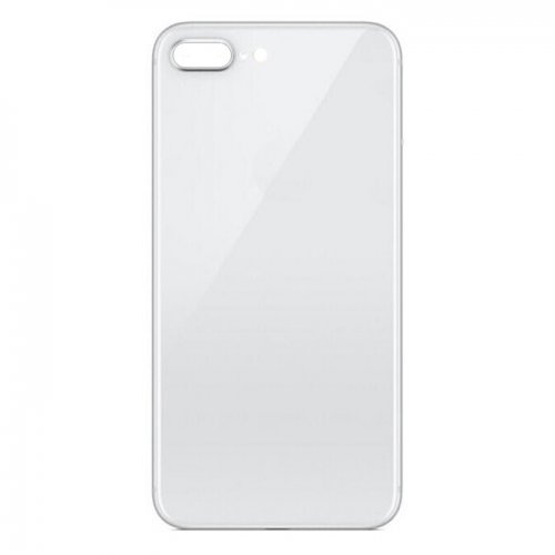 For iPhone 8 Plus Back Glass White