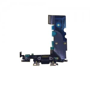 Charging Port Flex Cable for iPhone 8 Plus Black Original
