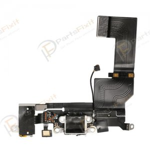 Charging Port Flex Cable for iPhone SE White
